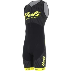 Poli Borneo Retro 2 Unisex Long Distance Triathlon Tri Suit