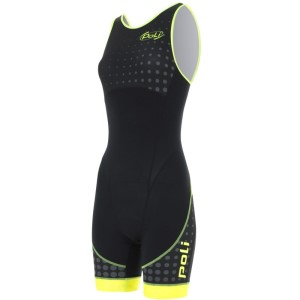 Poli Sireen Atome Womens Racerback Triathlon Tri Suit